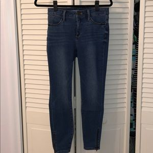 Talbots Jeggings with Zippers